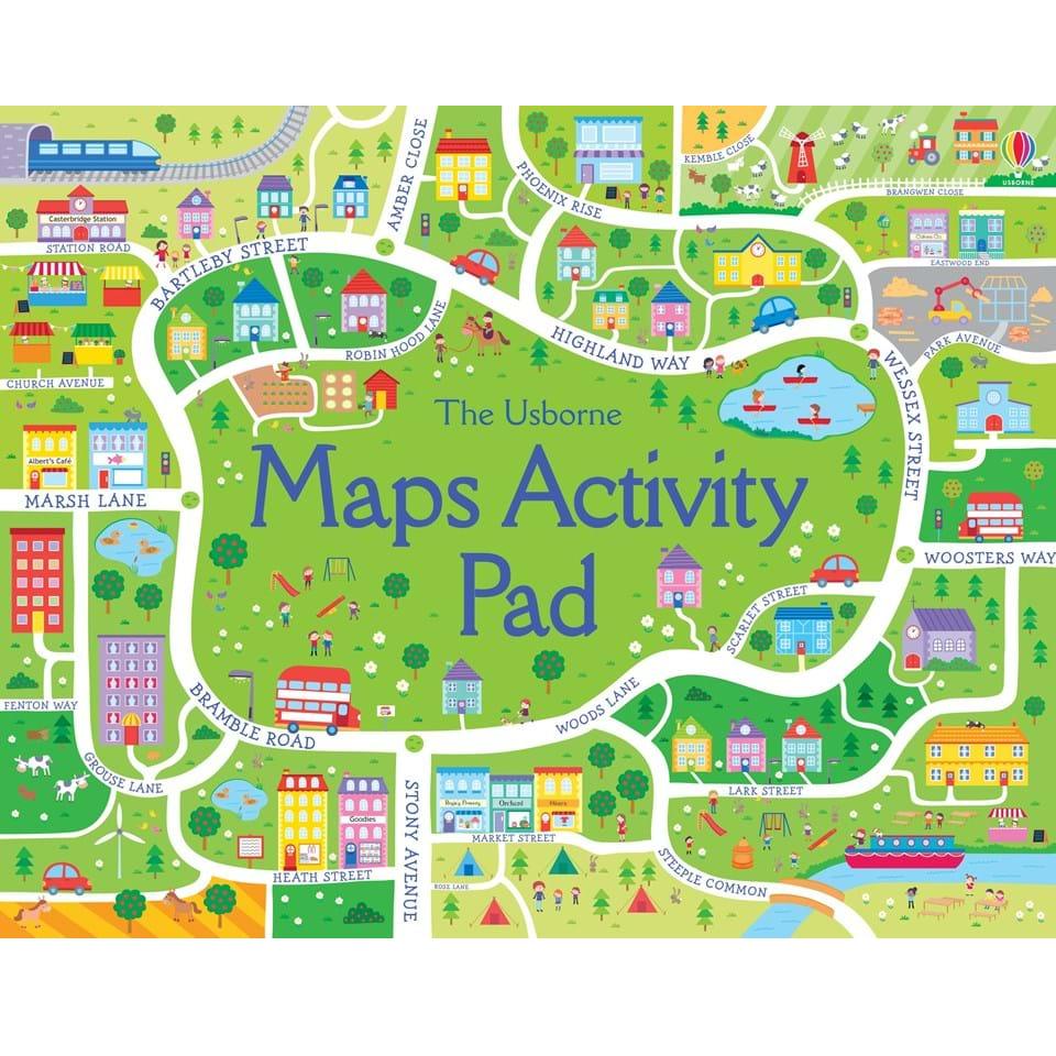 Map Activity Pad