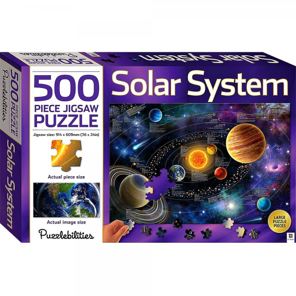 Solar System Jigsaw Puzzle 500pc