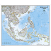 South East Asia Classic Wall Map
