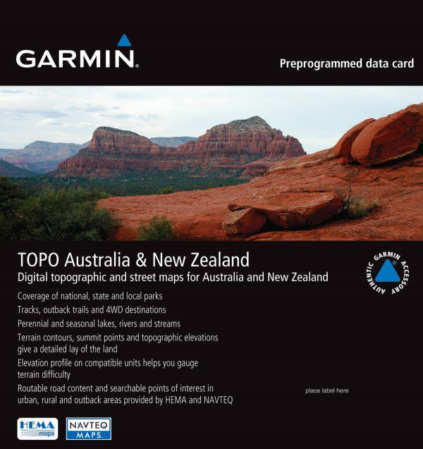 TOPO Australia & New Zealand microSD card