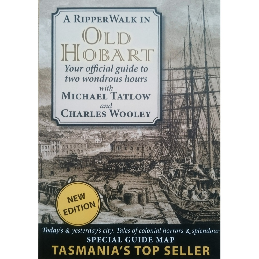 A Ripper Walk in Old Hobart Cover
