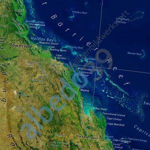 Australia Map Satellite.Australia Satellite Poster Sample 2 The Tasmanian Map Centre