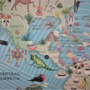 Illustrated World Map Sample 2