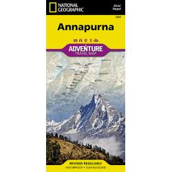 Annapurna Adventure Travel Map