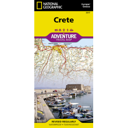 Crete Adventure Travel Map