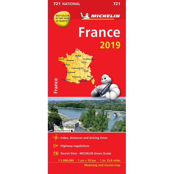 France Map 2019