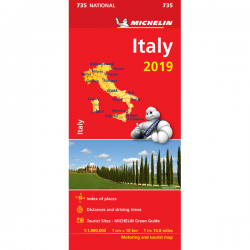 Italy Map 735