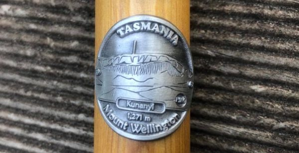 Mount Wellington Hiking Stick Medallion