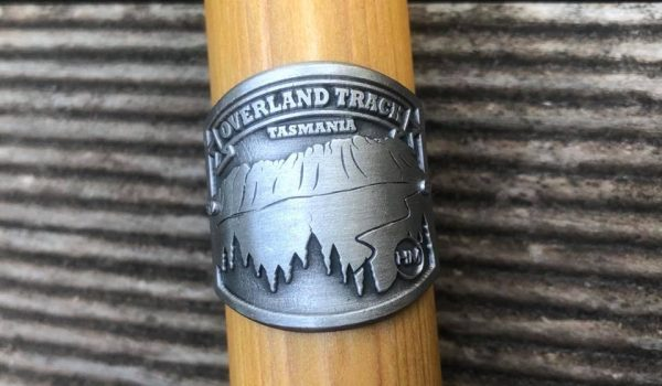 Overland Track Hiking Stick Medallion