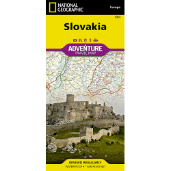 Slovakia Adventure Travel Map