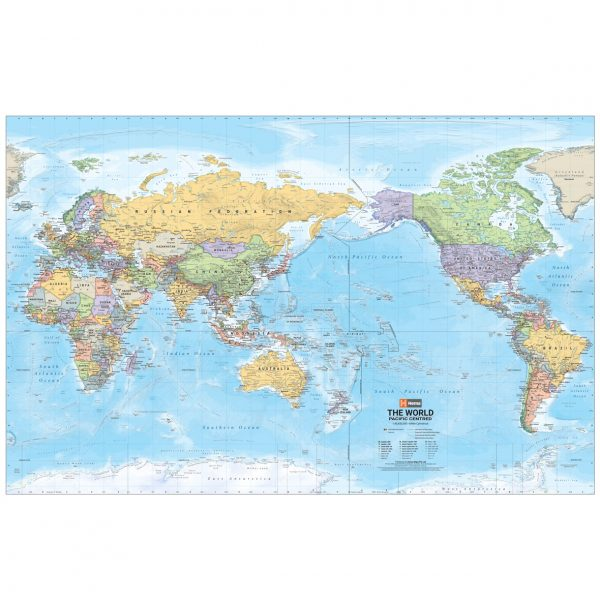 World Supermap Laminated Tubed