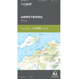 Armstrong Topographic Map TF10
