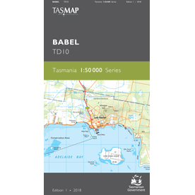 Babel Topographic Map TD10