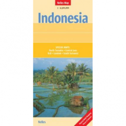 Indonesia Map - Nelles