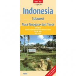 Indonesia Sulawesi Map - Nelles