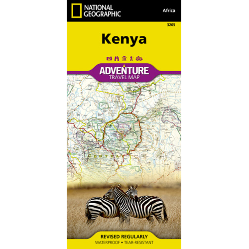 Kenya Adventure Travel Map Cover