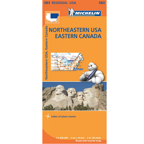 Northeastern USA Eastern Canada Map