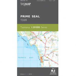Prime Seal Topographic Map