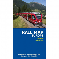 Rail Map of Europe