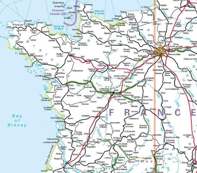 Rail Map Europe