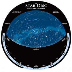 Star Disc Planisphere