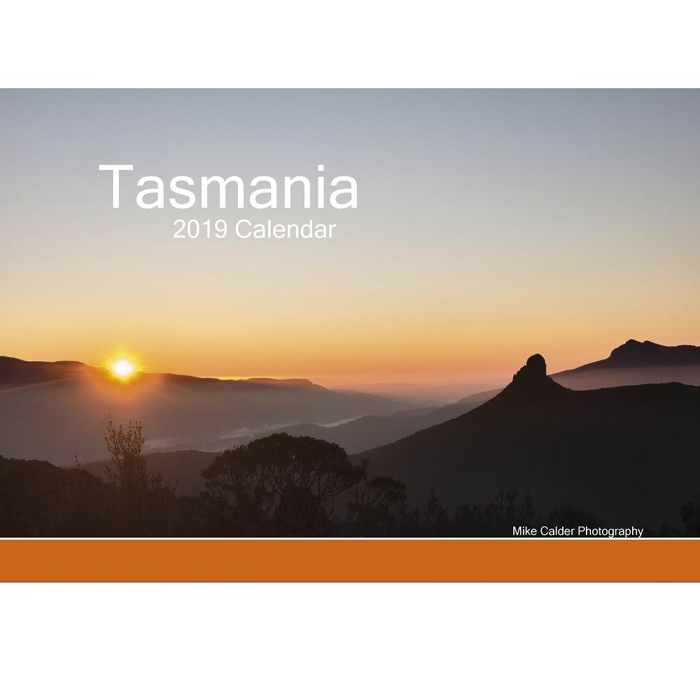 Tasmania 2019 Calendar, Landscape - Mike Calder