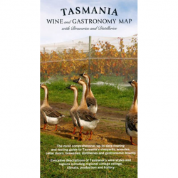 Tasmania Wine and Gastronomy Folded Map