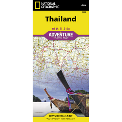 Thailand Adventure Travel Map