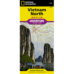 Vietnam North Adventure Travel Map