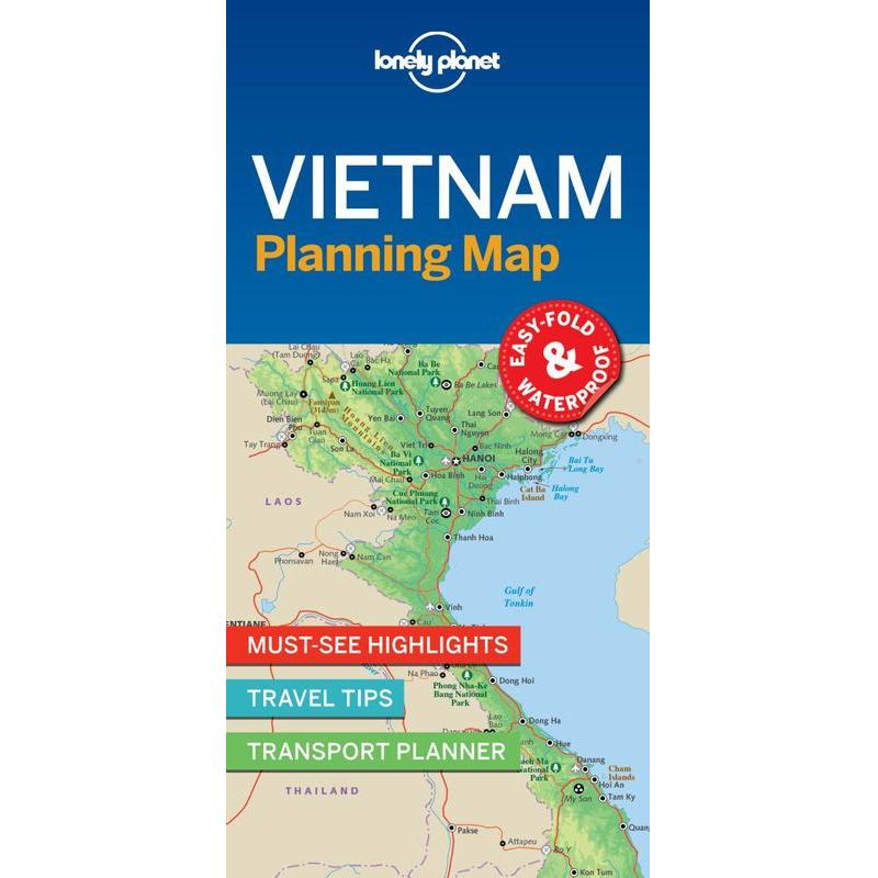 Vietnam Planning Map The Tasmanian Map Centre