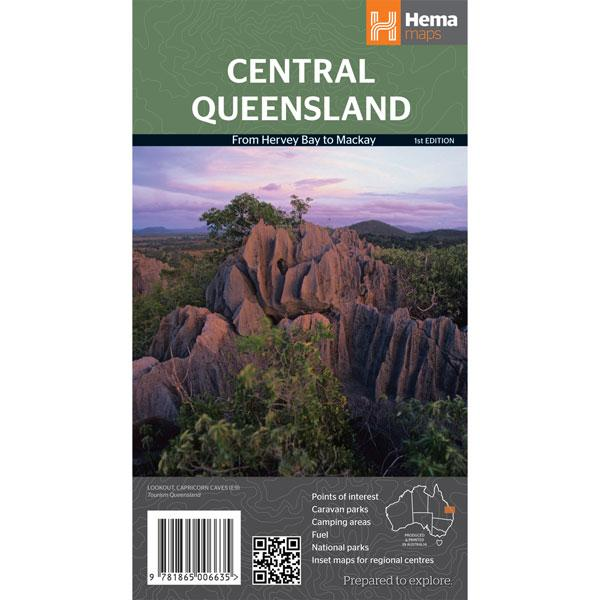 Central Queensland Map