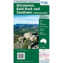 Giraween, Bald Rock and Sundown National Parks Map