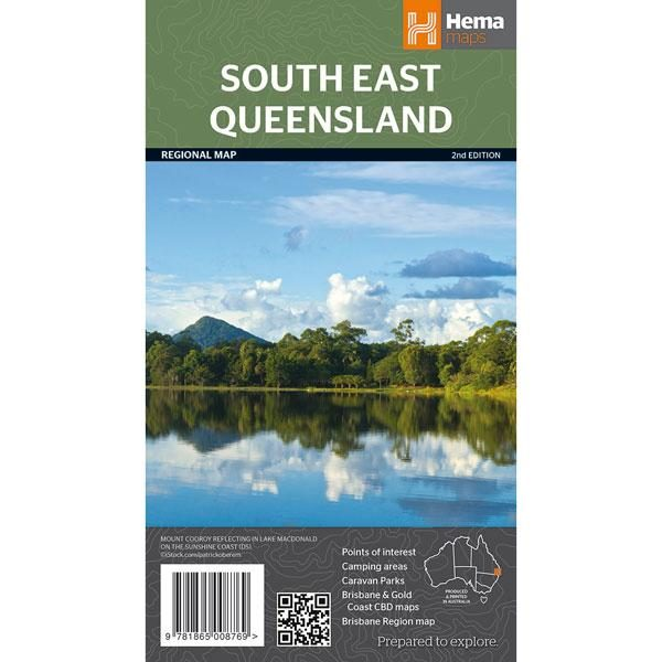 South East Queensland Map