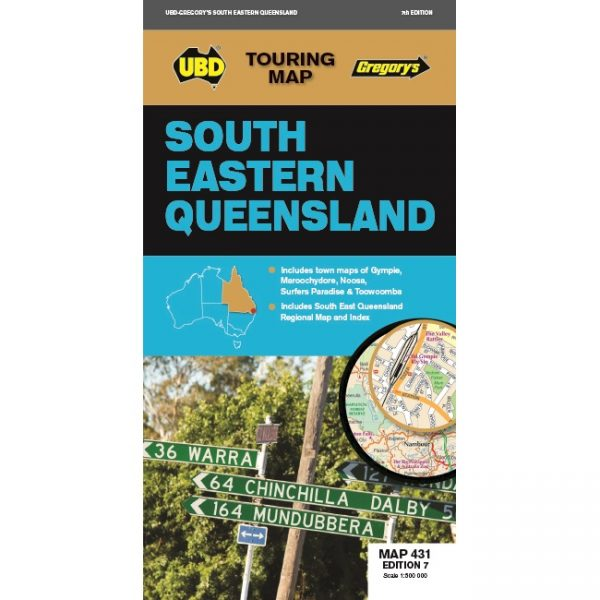 South Eastern Queensland Map