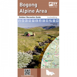Bogong Alpine Area Map