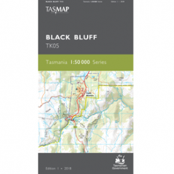 Black Bluff Topographic Map