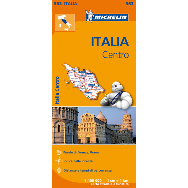 Italy Central Map 563