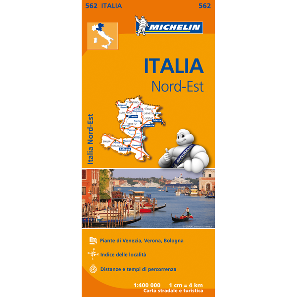 Italy North East Map 562