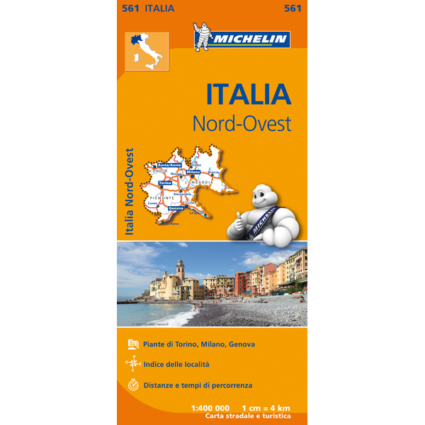 Italy North West Map 561