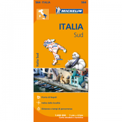 Italy South Map 564