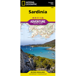 Sardinia Adventure Travel Map