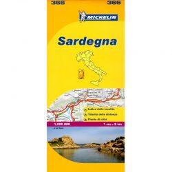 Sardinia Region Italy Map 366