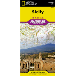Sicily Adventure Travel Map
