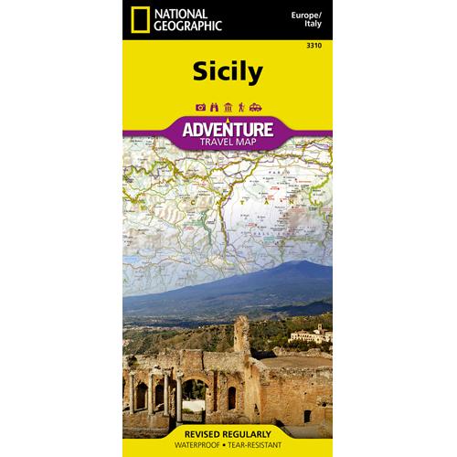 Sicily Adventure Travel Map