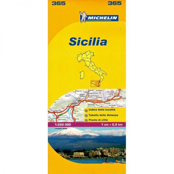 Sicily Region Map 365