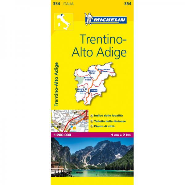 Trentino Region Italy Map 354