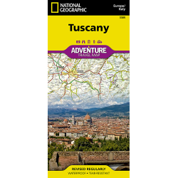 Tuscany Adventure Travel Map