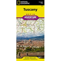 Tuscany Adventure Travel Map