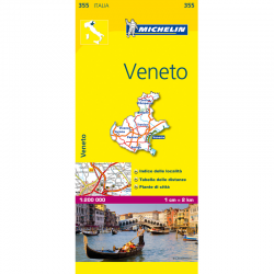 Veneto Region Italy Map 355