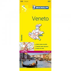 Veneto Region Italy Map 355